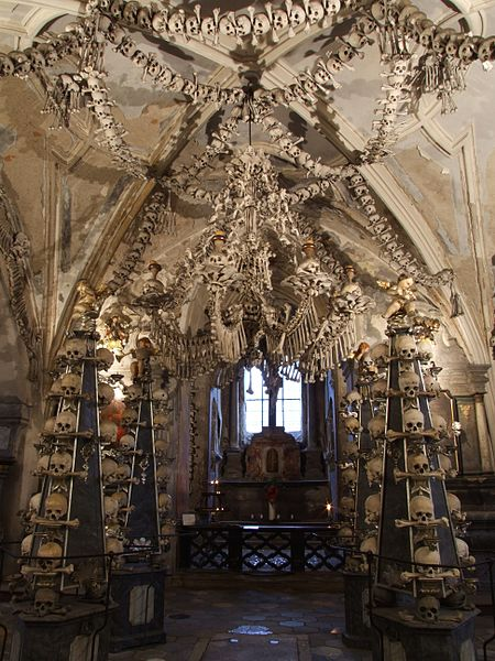 Crazy Church Made Of Human Bones Unesco World Heritage